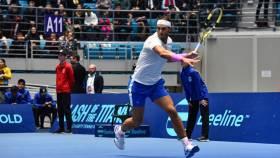 Nadal derrota a Djokovic en Kazajistán en una dura batalla de exhibición