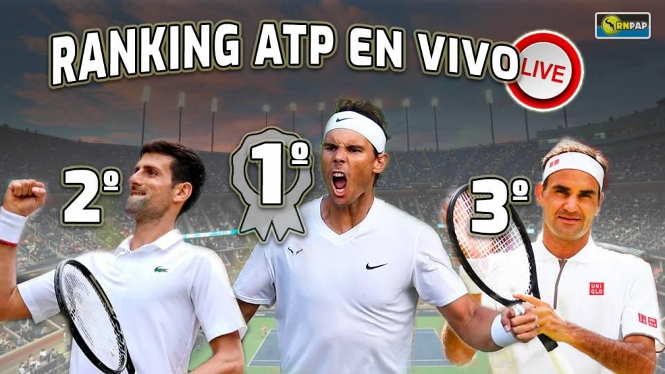Ranking ATP a fecha 28 de noviembre 2019