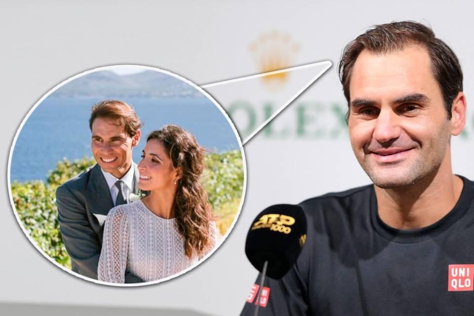 Roger Federer en una entrevista en el pasado Masters de Shanghai