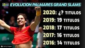Nadal: Sería increíble igualar los 20 de Federer pero no es un objetivo principal