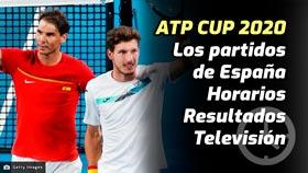 Copa ATP: Horarios, resultados y dónde ver los partidos de España