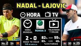 Rafa Nadal - Dusan Lajovic: horario y dónde ver en TV el partido del Masters 1000 de Roma