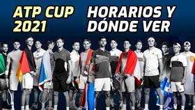 ATP Cup 2021: Horarios partidos y dónde ver por TV