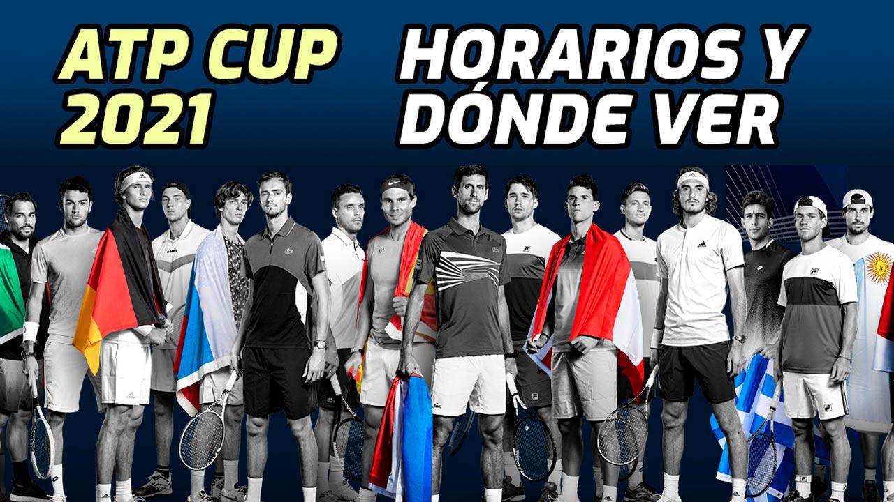 Grupos de la Copa ATP 2021 con Serbia y España como campeona y subcampeona vigentes
