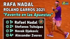 Rafa Nadal, favorito para ganar Roland Garros según las apuestas