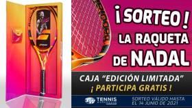 La nueva raqueta de Nadal, la Babolat Pure Aero Rafa ¡a examen!