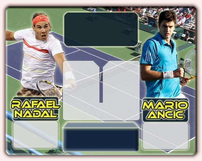 Nadal vs Ancic en Indian Wells 2010