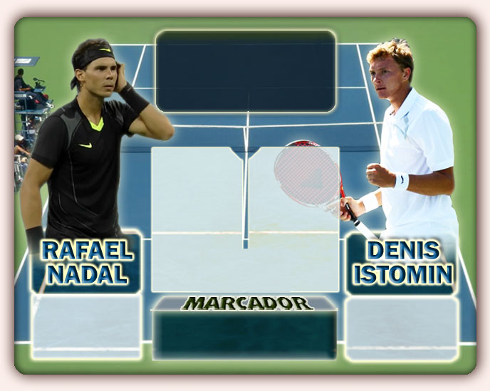 Nadal vs Istomin en US Open 2010