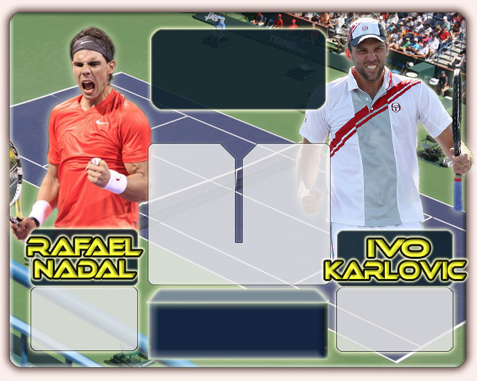Nadal vs Karlovic en Indian Wells 2011