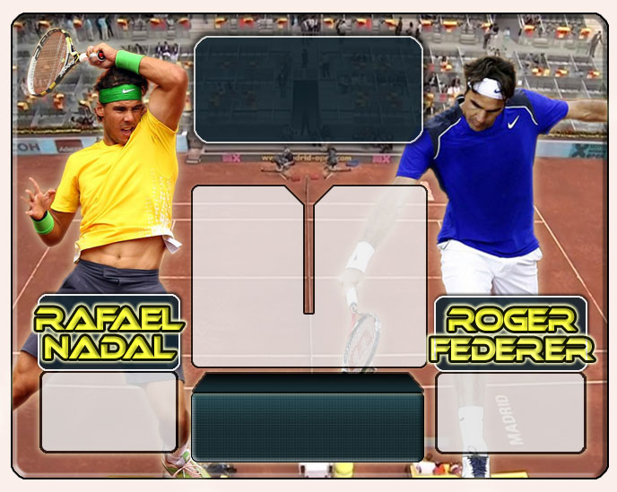 Nadal vs Federer en Madrid 2011