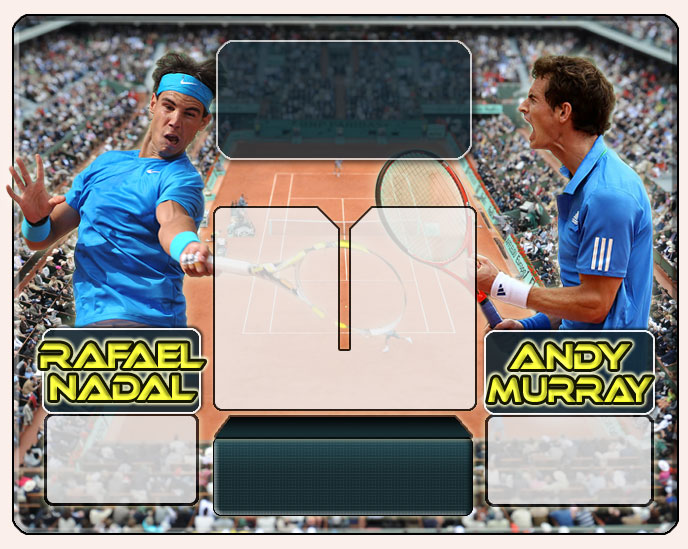 Nadal vs Murray en Roland Garros 2011