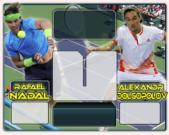 Nadal vs Dolgopolov en Indian Wells 2012