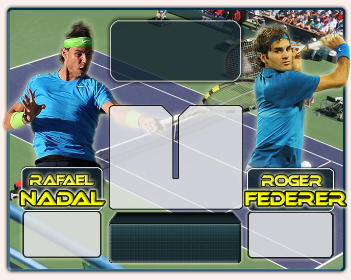 Nadal vs Federer en Indian Wells 2012