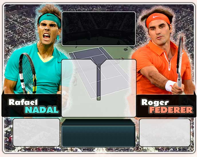 Nadal vs Federer en Indian Wells 2013