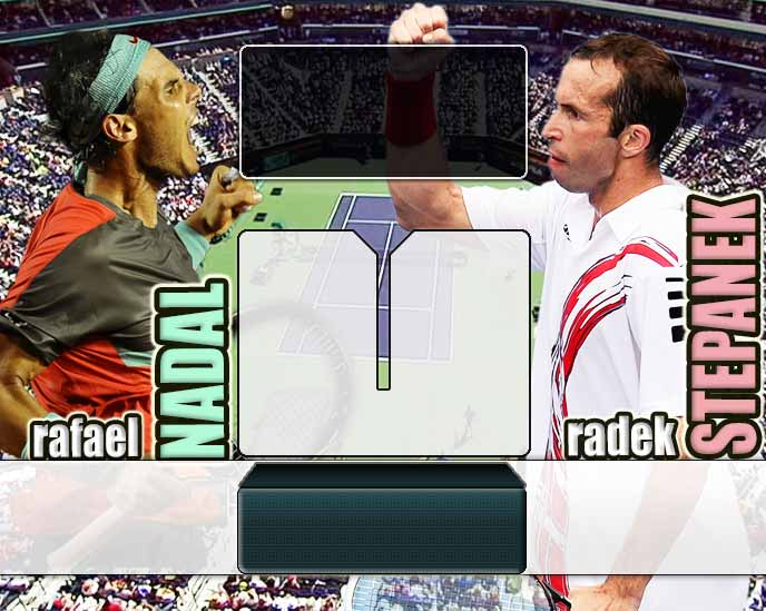 Nadal vs Stepanek en Indian Wells 2014