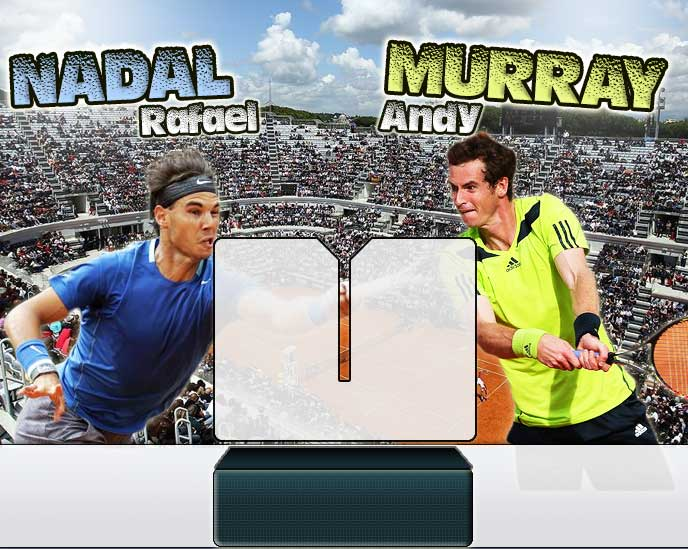 Nadal vs Murray en Roma 2014