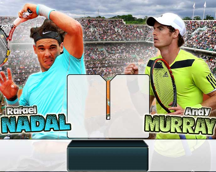 Nadal vs Murray en Roland Garros 2014