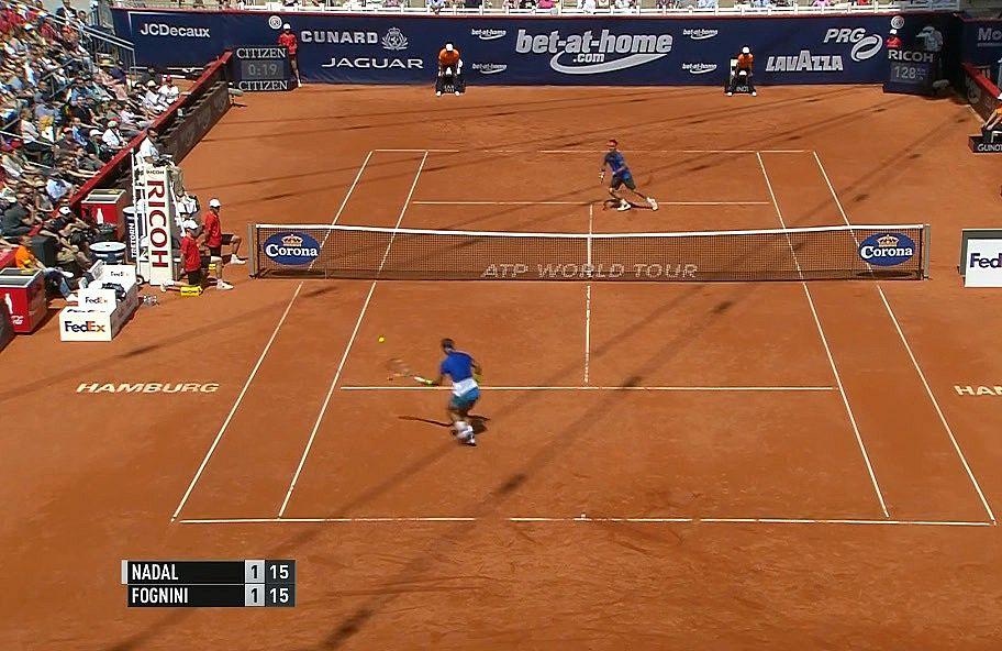 Los mejores golpes de Nadal en la final vs Fognini