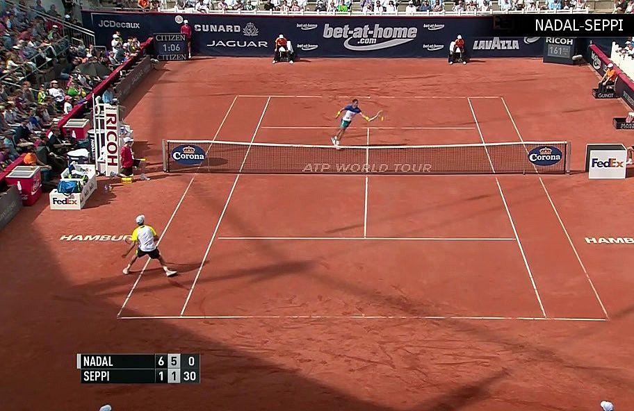 Los mejores puntos de Nadal vs Seppi - SF